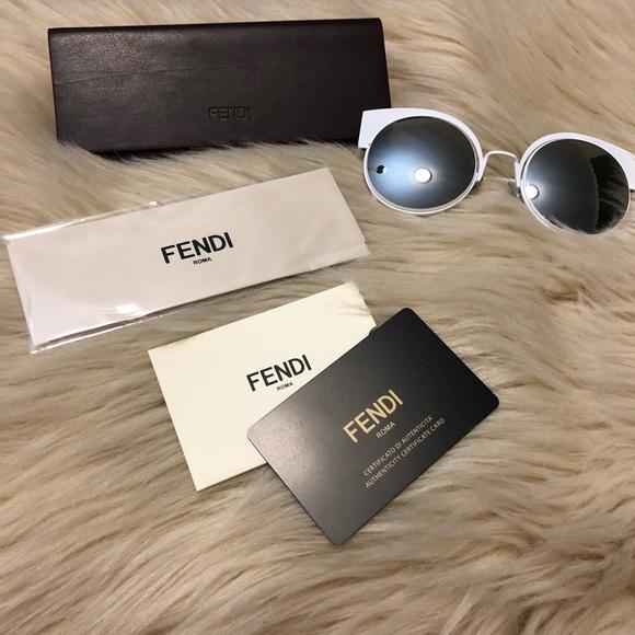 02de25f6de8 Fendi 53 MM Cat-eye Sunglasses 